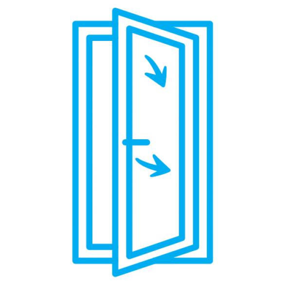 Alüminyum Tijli Çift Açılım Sistem